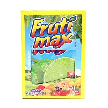 Polvo Para Preparar Bebida Frutimax Sabor Limon Paquete con 8 Sobres