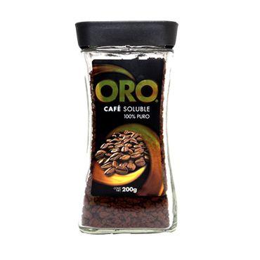 Cafe Soluble Oro Frasco 200 Gramos